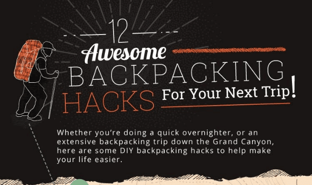 12 Backpacking Hacks for Your Next Trip!