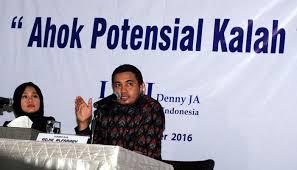 Survei LSI: 73,2 Persen Warga Jakarta Salahkan Ahok Soal Al Maidah
