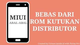 Cara Beralih Dari Rom Distributor ke Rom Official Xiaomi