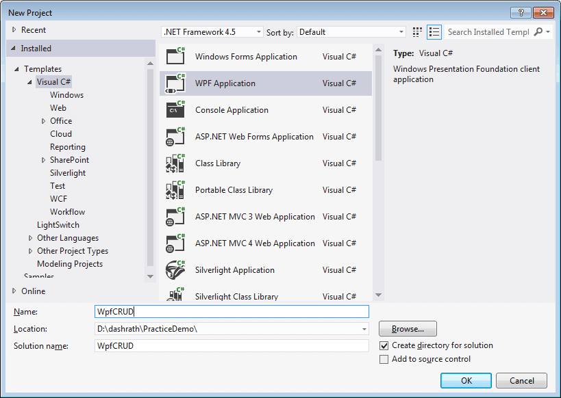 WPF DataGrid : Insert Edit Update And delete operation ~ DotNet Window