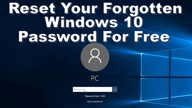 Bagaimana Cara Mengatasi Windows 10 Lupa Password