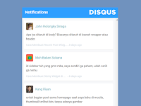 Cara Memasang Recent Comments Disqus Terbaru Di Blogger