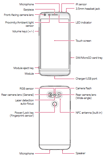 LG G5 (H830) T-Mobile Manual PDF Download (English and