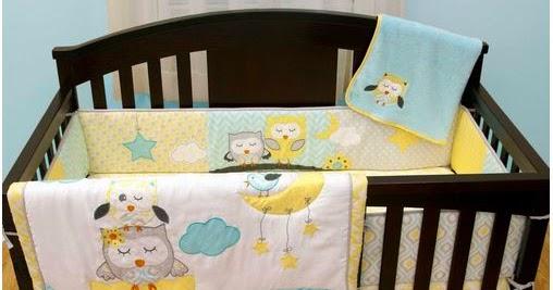 Baby Room Decorating, Owl Nursery Bedding Yellow