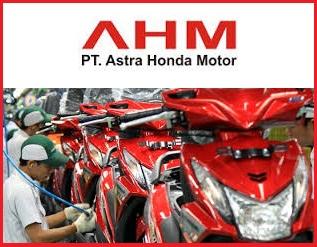 Jobs Vacancy PT Astra Honda Motor Lulusan SMK Terbaru 2018