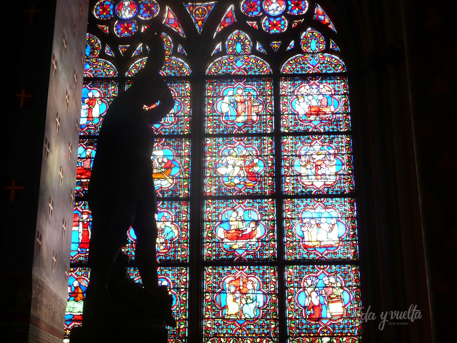Vidriera Notre Dame