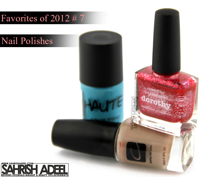 Favorites Of 2012 # 7 & Happy New Year
