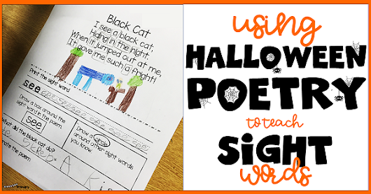 How to Use Halloween Poems to Introduce Sight Words