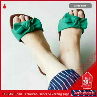 HYU597 Sandal wanita Teplek pita sole karet | BMGShop