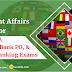 Current Affairs Questions for IBPS PO Mains Exam: 10th November 2018