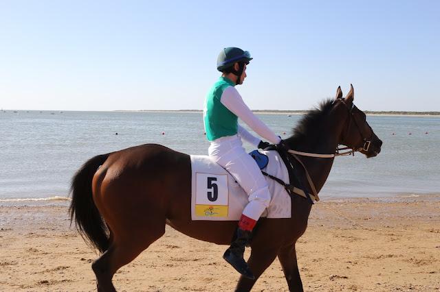 Participante en las carreras de caballos de Sanlúcar de Barrameda