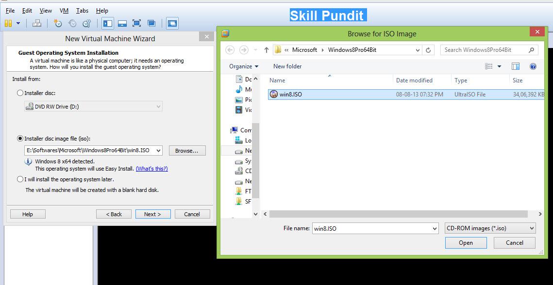 Skill Pundit: Install windows server 2012 on Vmware
