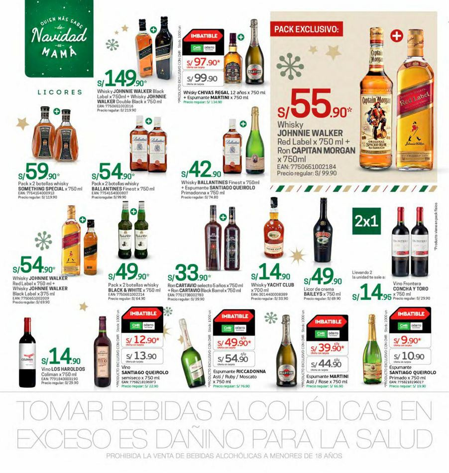 Articulos Gratis Diversos Bebidas Alcoholicas Precios En Peru