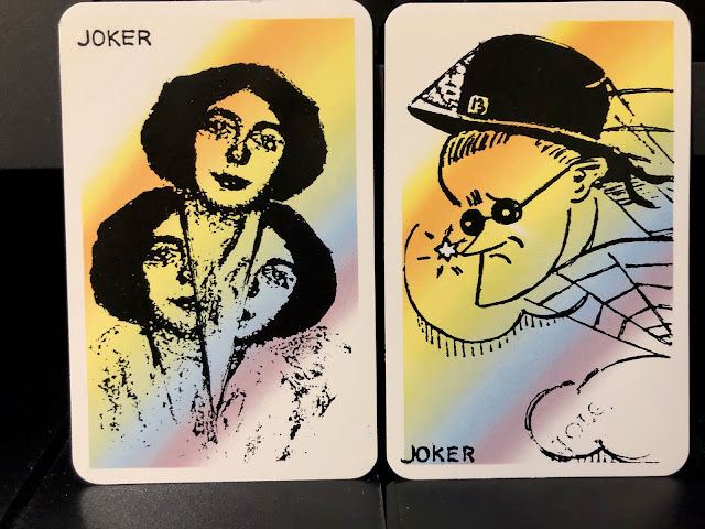 James Joyce and Nora Joyce Jokers