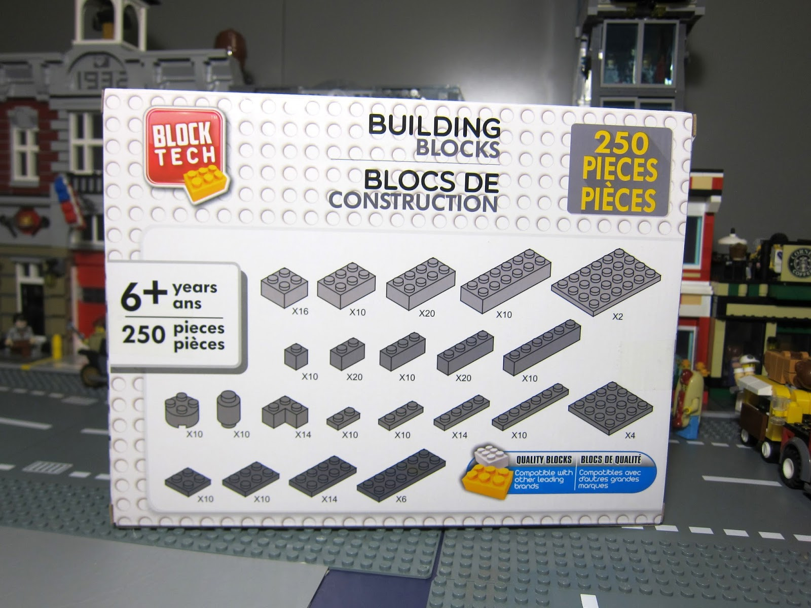 Bricks And Figures: Lego compatible Brick parts from Block Tech