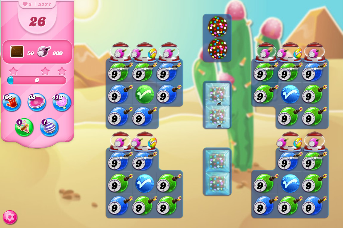 Candy Crush Saga level 5177