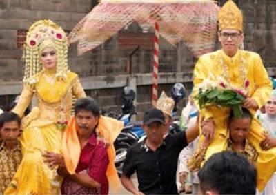 Bausung, Tradisi Unik Pernikahan Suku Banjarmasin