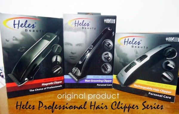 alat cukur rambut elektrik listrik Heles