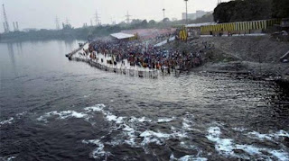This time also on Chhath Pooja, the bad news of the ghats,