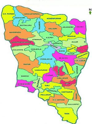Nellore info District map