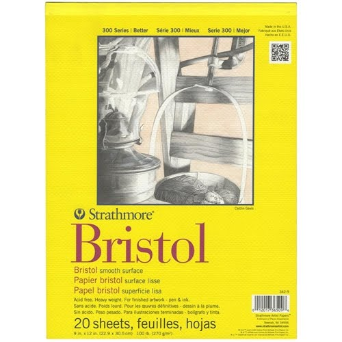 Bristol Smooth Surface Cardstock