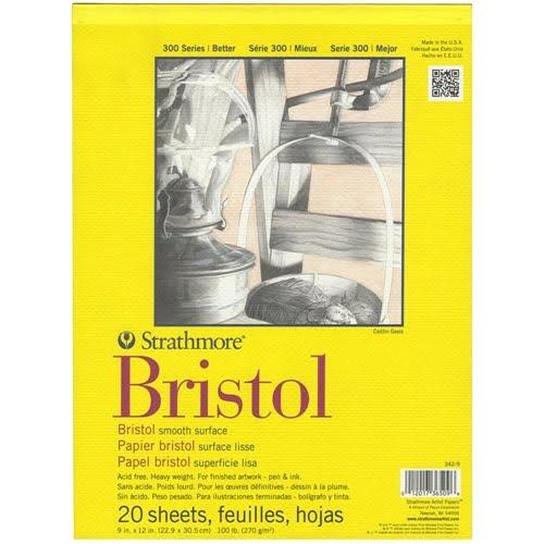 Bristol Smooth Surface Cardstock