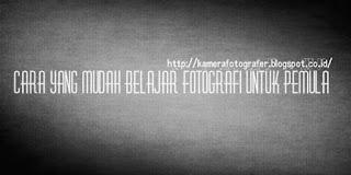 fotografi untuk pemula