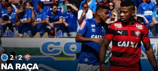 Vitória arranca o empate com o Cruzeiro