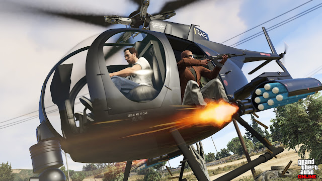 GTA V Helicopter Cheat