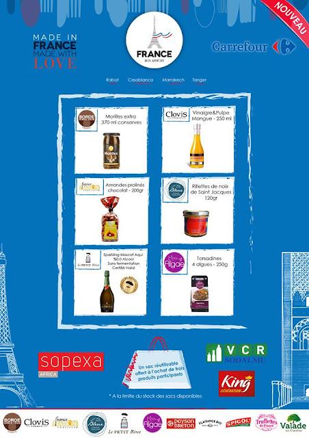 produits français exclusif carrefour maroc
