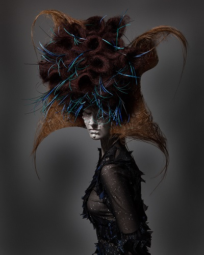 "Colección ""Realms of Fantasy"" by Suhyun Kang - British Hair Awards 2016 - Avant Garde - fotos surrealistas por Luke Nugent 