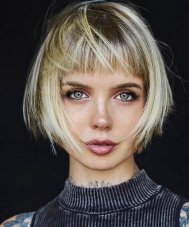 Model rambut pendek wanita 2019 full bang bob