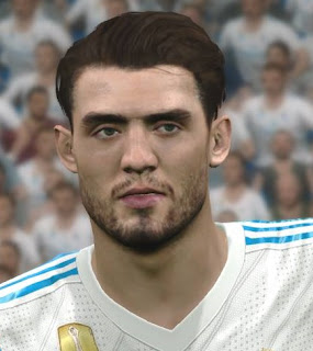 PES 2017 Faces Mateo Kovacic by WER Facemaker