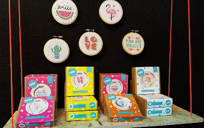 The Make Arcade at CHSI Embroidery Kits