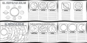 cuadernillo de actividades sobre el sistema solar