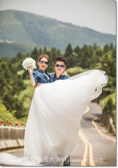 公路牛仔婚紗-婚紗景點-陽明山巴拉卡公路