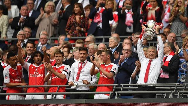 Rekor Arsenal, Juga Rekor Wenger