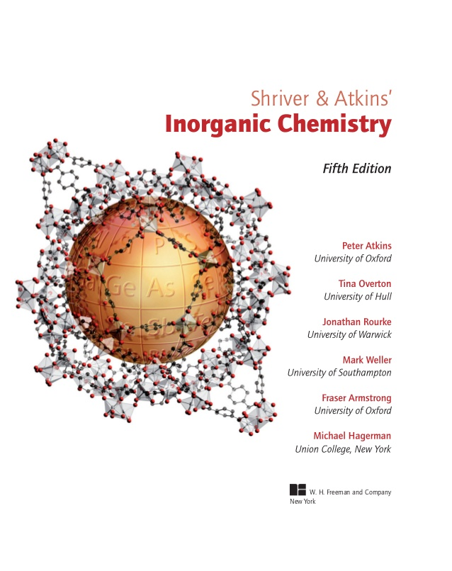Standard Books On Inorganic Chemistry All Bout Chemistry