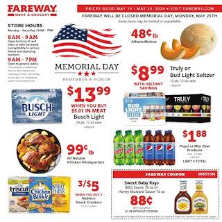 ⭐ Fareway Ad 5/19/20 ⭐ Fareway Weekly Ad May 19 2020