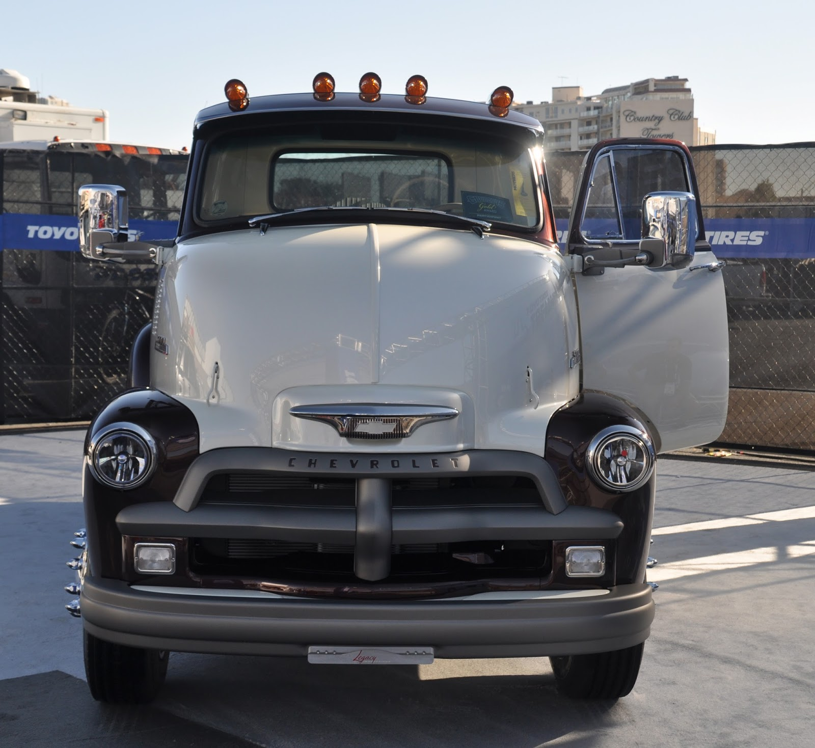 release date: 0c816 1f725 Legacy Innovations made a cool  54 Chevy COE from a field find
