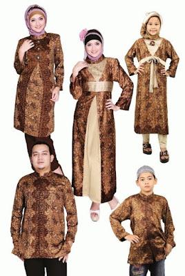 Baju seragam batik keluarga