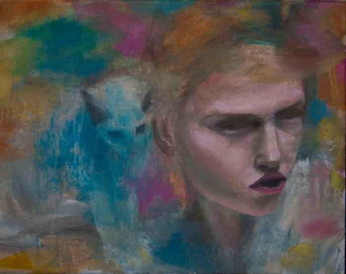 Австралийский художник. Magda Vacariu