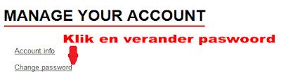 Beheer je account