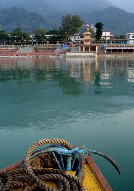 boating river ganga rishikesh uttarakhand india