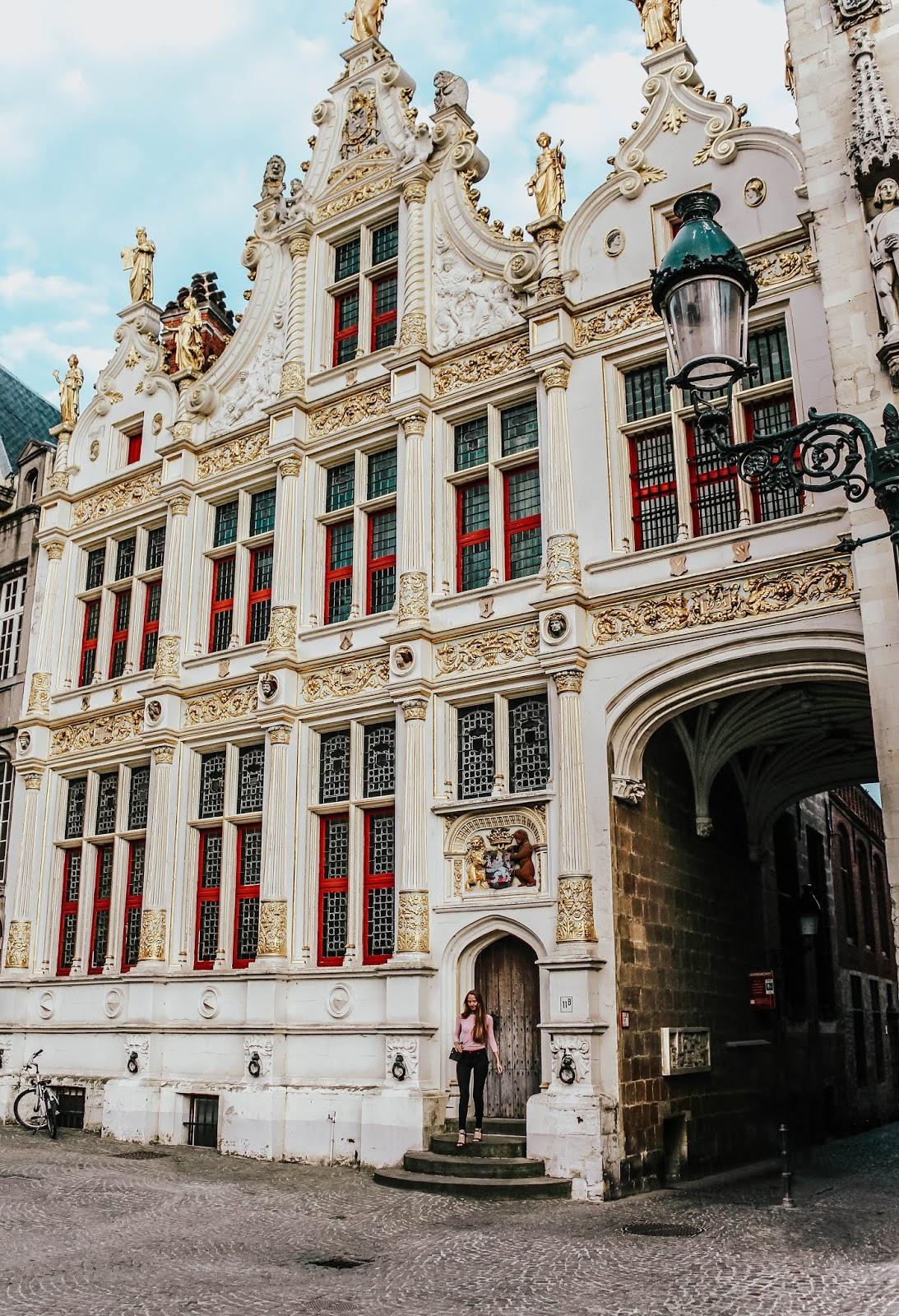 Brugge Belgium Gold Building Architecture