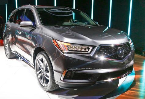 2017 Acura MDX Specs