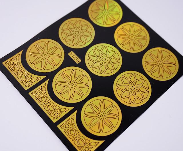 Nail Vinyls Lotus Flower von Born Pretty
