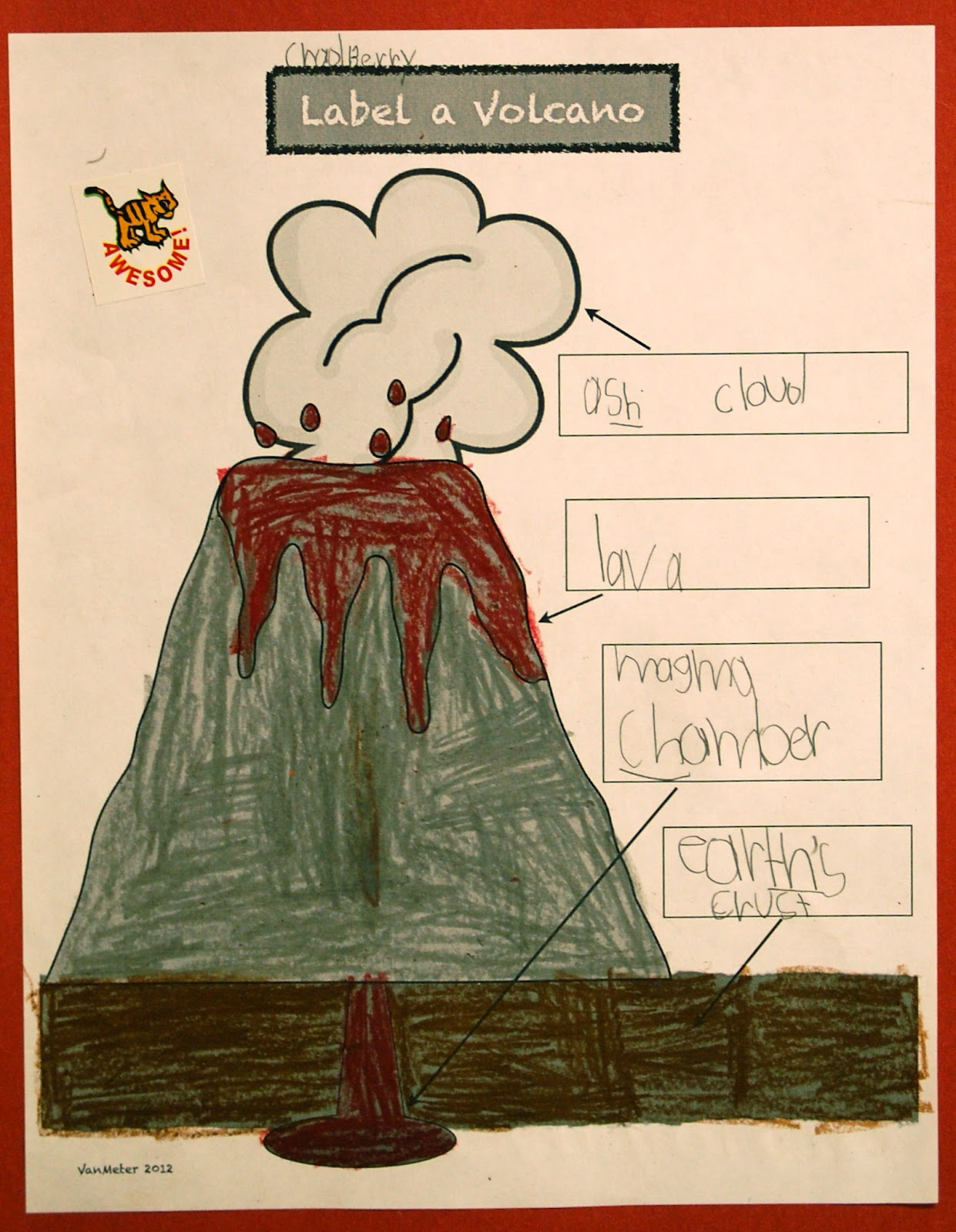 Stratovolcano Diagram With Labels 2002 Chevy Cavalier Exhaust System Volcano Label Cake Ideas And Designs