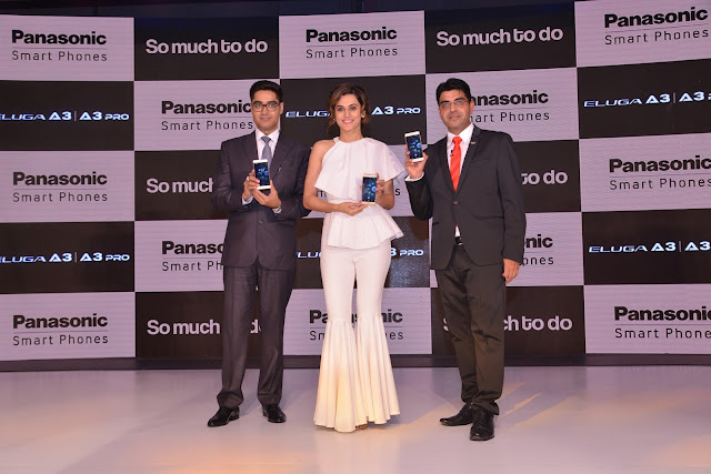 Taapsee Pannu joins Panasonic's brand ambassador bandwagon alongside Varun Dhawan for its Smartphone Business