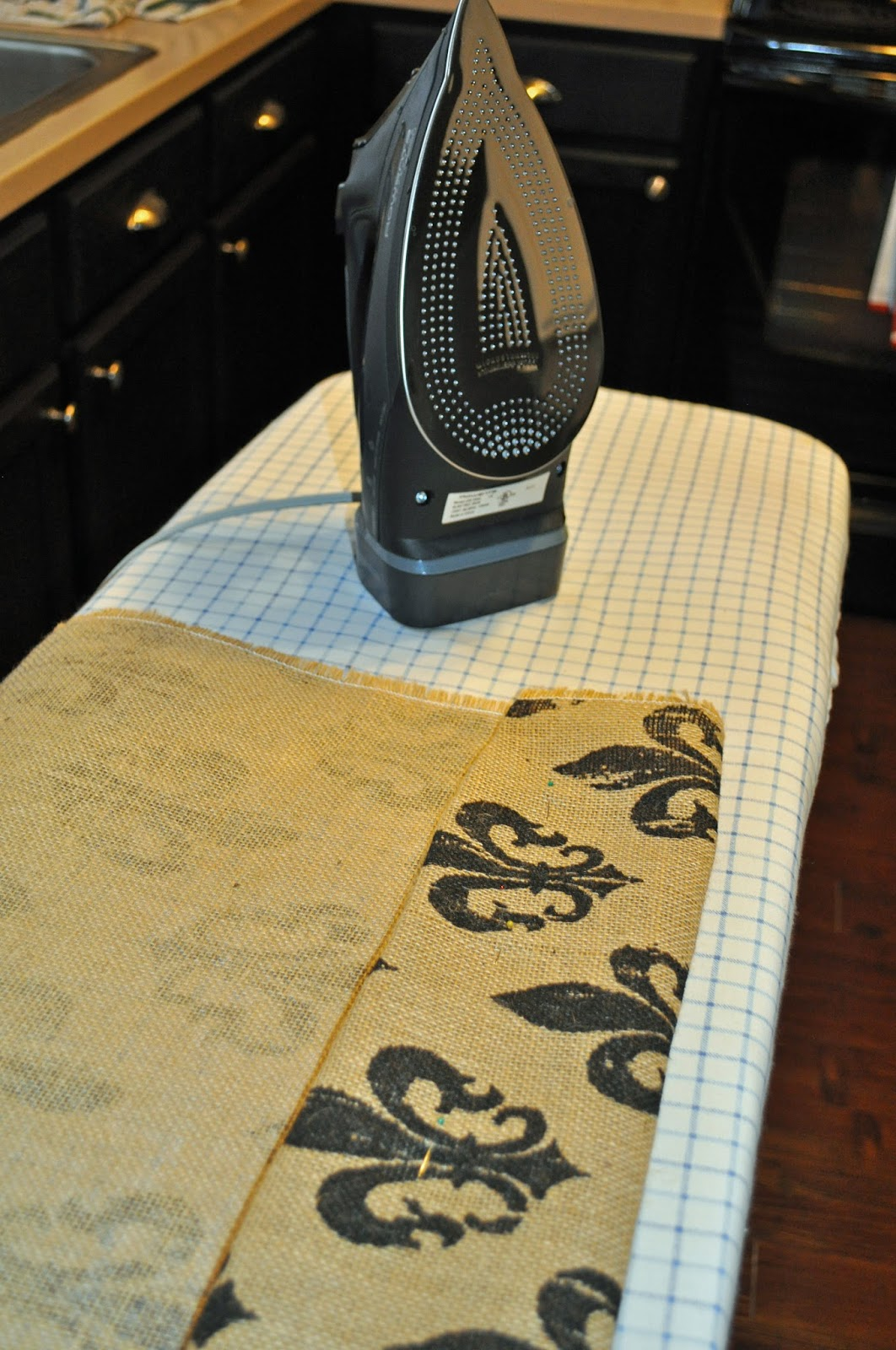 Right Where We Are Burlap Curtains No Sewing Required